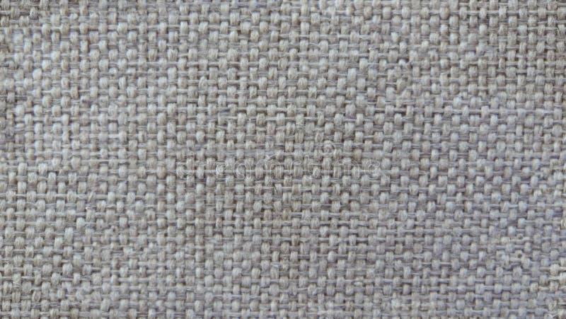 Textura da tela natural, textura Fim acima grunge, papel de parede teste padrão natural do linho, tecido de algodão Ilustra??o ilustração do vetor