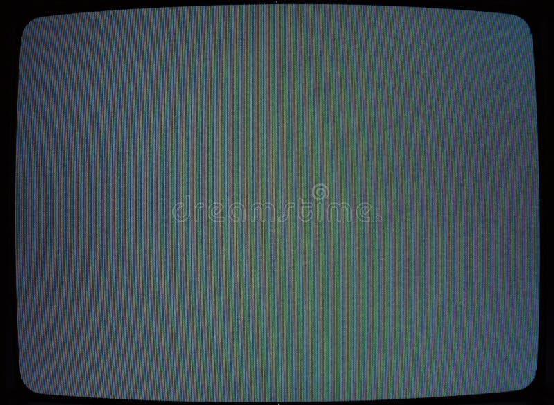 Textura da televisão imagem de stock