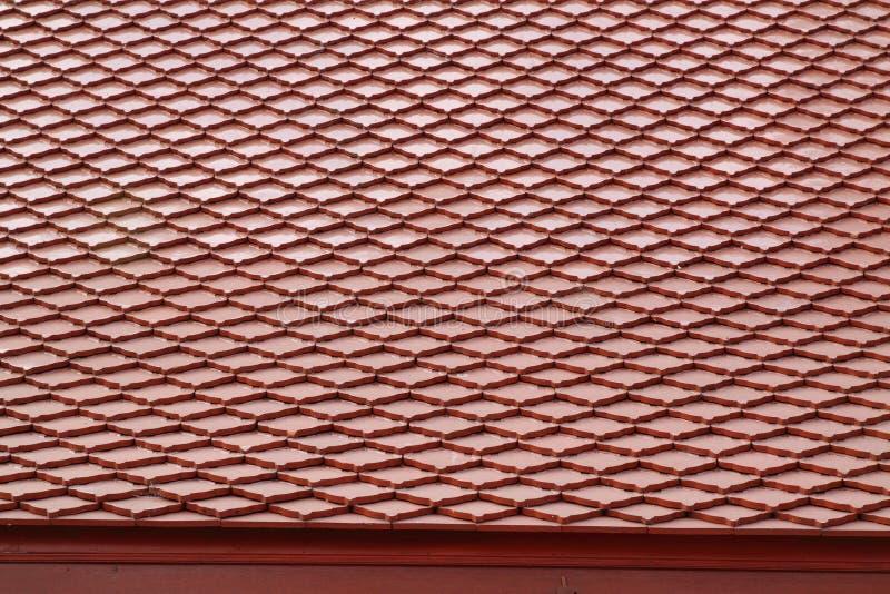 Textura da telha de telhado imagens de stock royalty free