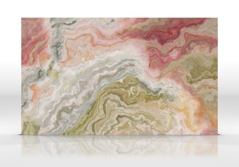Textura da telha do mármore de ônix imagem de stock