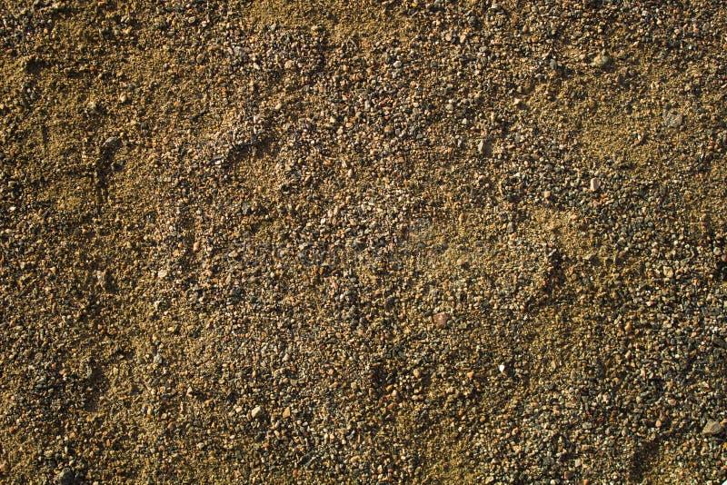 Textura da terra e do fim do solo acima fotografia de stock royalty free