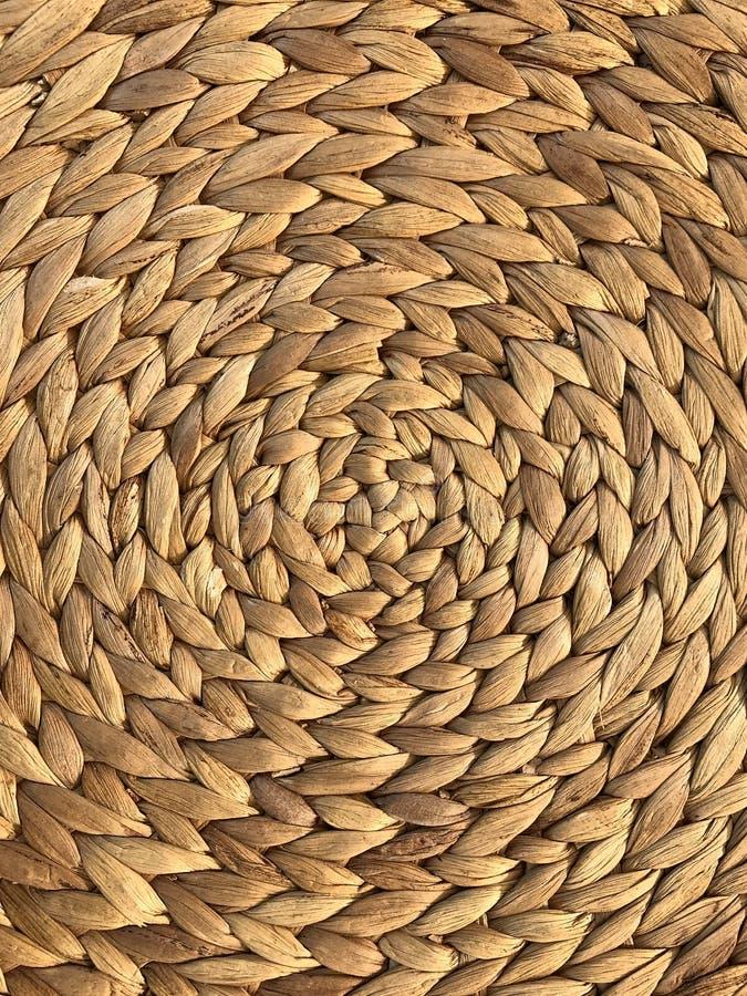 Textura da trança do weave Textura e fundo foto de stock
