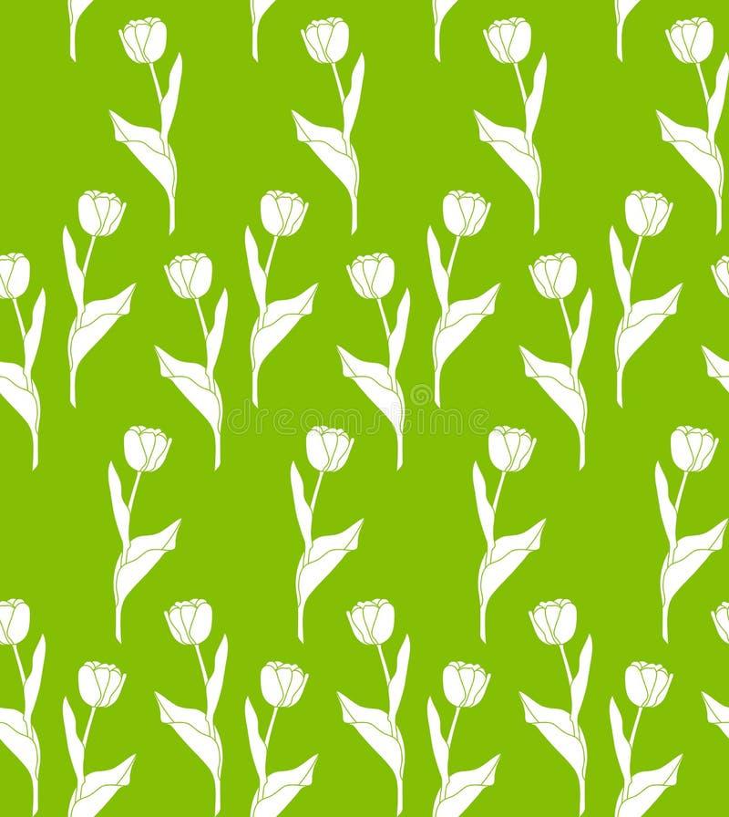 Textura da tulipa ilustração do vetor