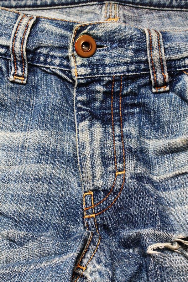 Textura das calças de brim. fotos de stock royalty free
