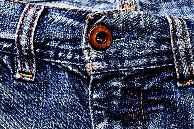 Textura das calças de brim. imagens de stock