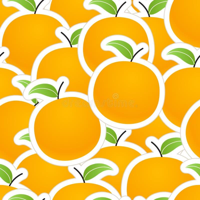 Textura das laranjas ilustração royalty free