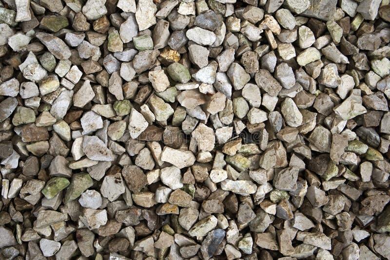 Textura das pedras de tamanhos diferentes imagens de stock