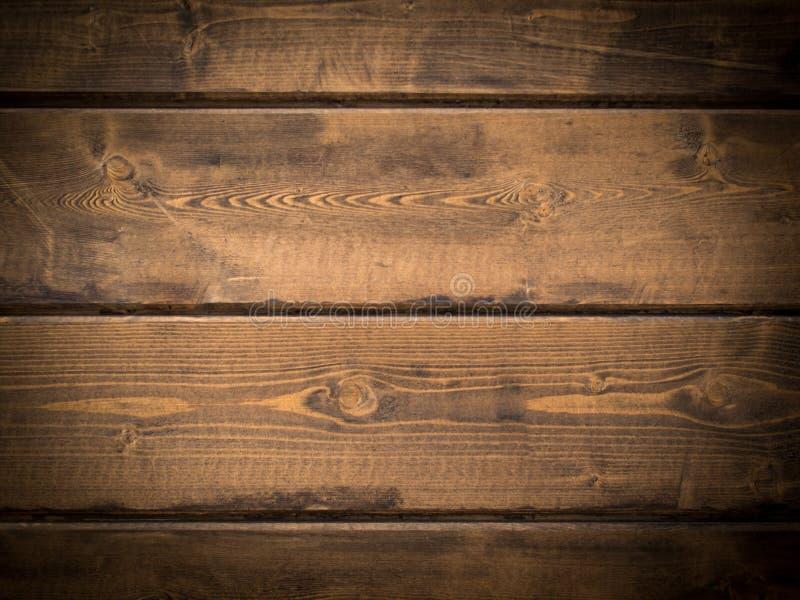 Textura das pranchas de madeira com vinheta fotos de stock