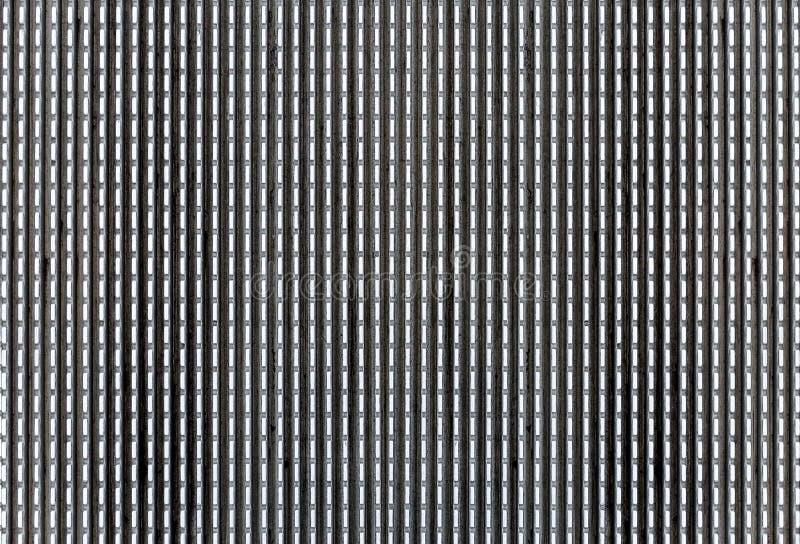 Textura de aço velha do fundo do teste padrão da placa do diamante foto de stock
