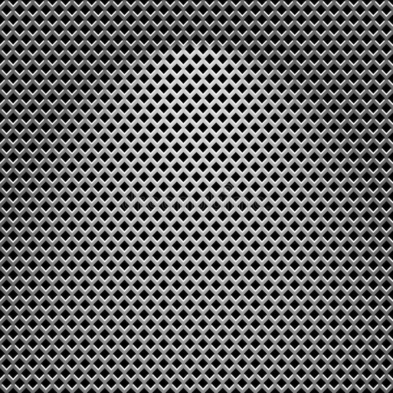Textura de acero ilustración del vector