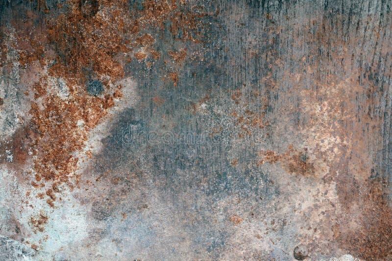 Textura de acero aherrumbrada imágenes de archivo libres de regalías