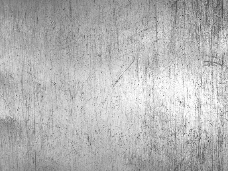 Textura de acero gastada o fondo rasguñado metálico foto de archivo libre de regalías