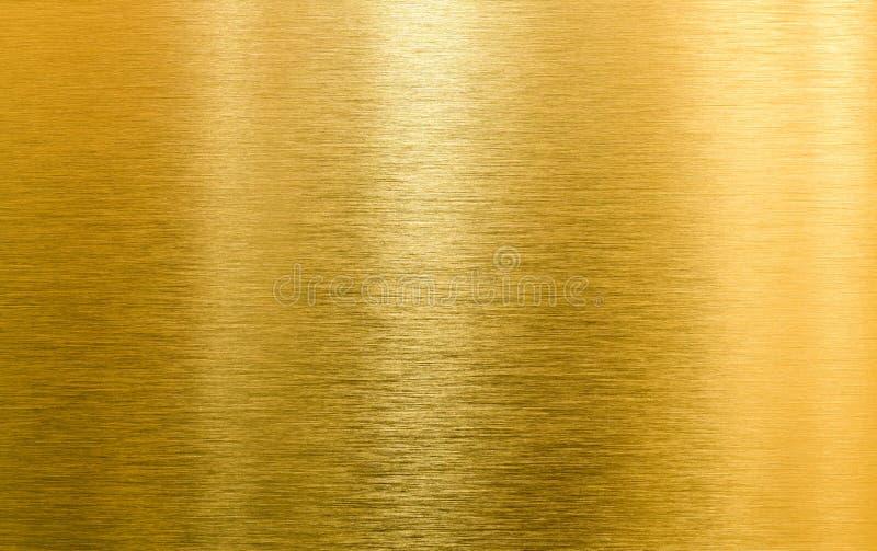 Textura de alta calidad del metal del oro imagen de archivo