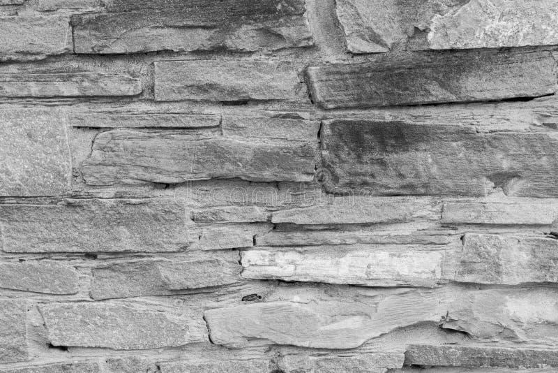 Textura de alta calidad de la pared de piedra Camino gris del guijarro como backgr fotos de archivo libres de regalías