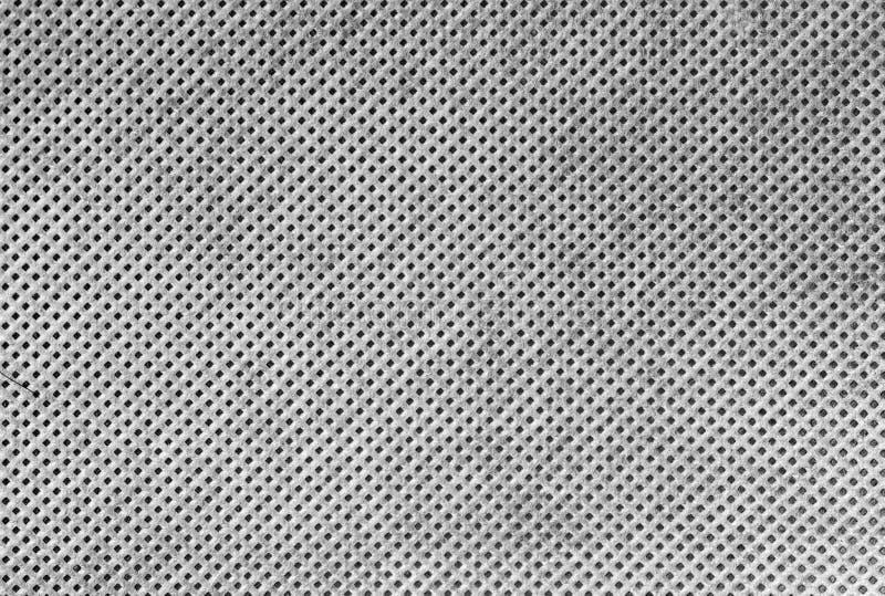 Textura de alta resolución del paño blanco con los agujeros en r escalonado libre illustration