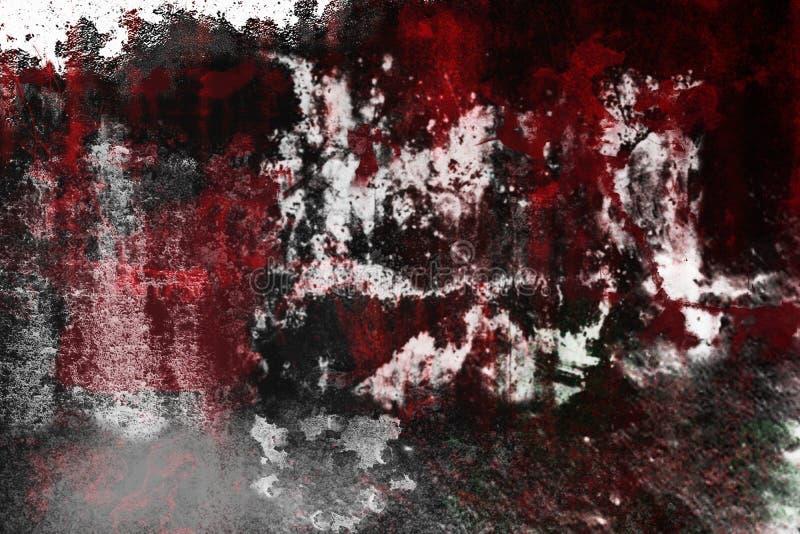 Textura de alta resolución roja del Grunge la vieja es perfecta para el fondo fotografía de archivo libre de regalías