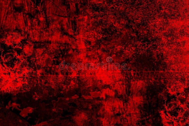 Textura de alta resolución roja del Grunge la vieja es perfecta para el fondo fotos de archivo libres de regalías