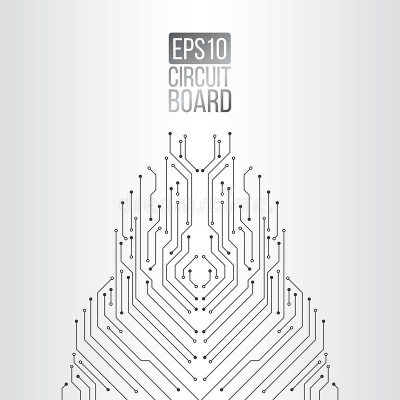 Textura de alta tecnolog?a del fondo de la tecnolog?a libre illustration