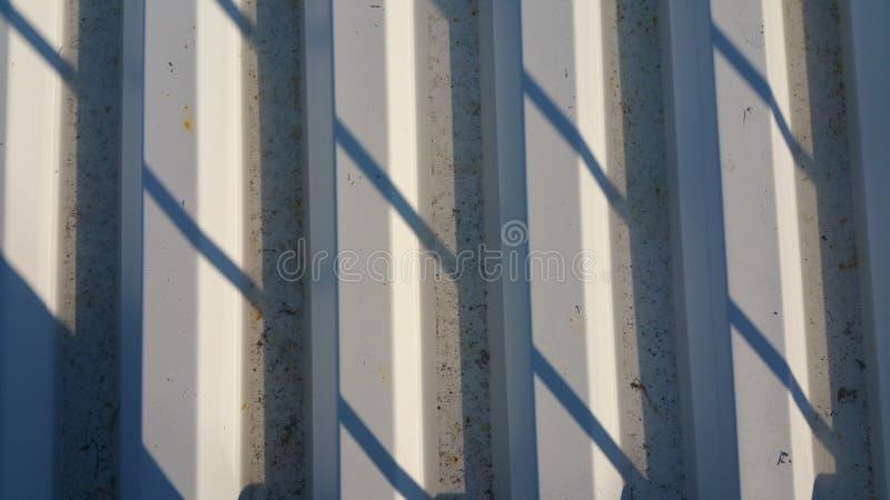 Textura de alumínio do telhado imagem de stock