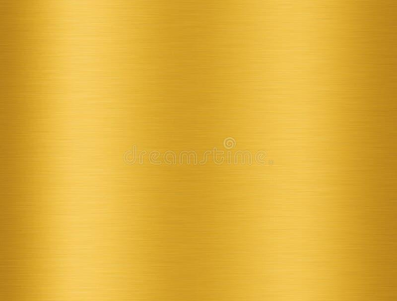 Textura De Alumínio Dourada Ilustração Stock - Ilustração ...