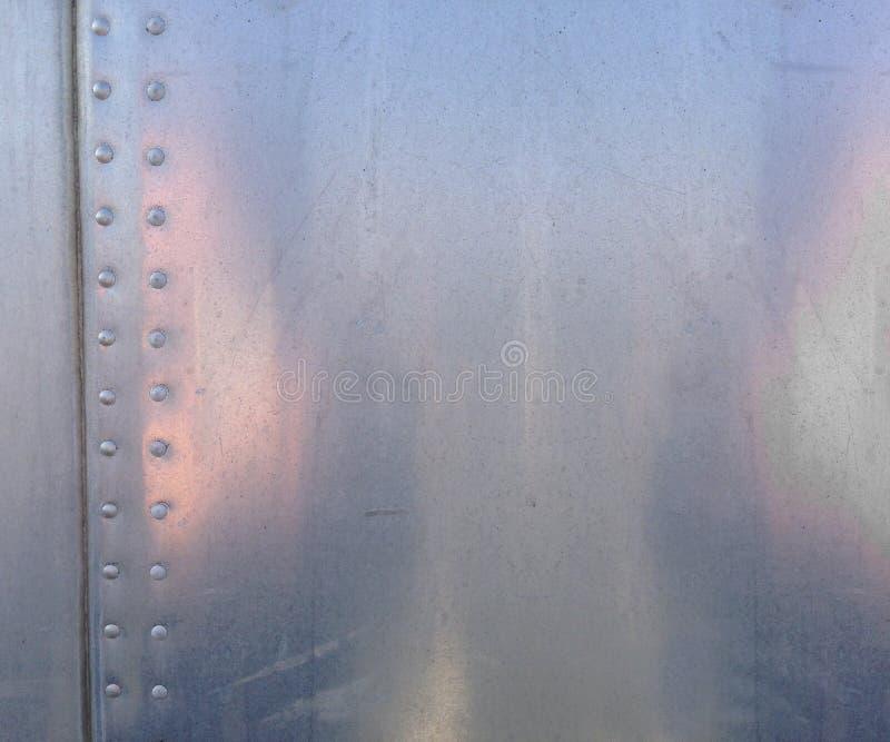 Textura de aluminio imagenes de archivo