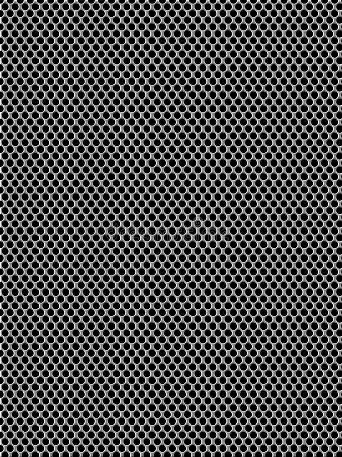 Textura de aluminio del fondo del acoplamiento ilustración del vector