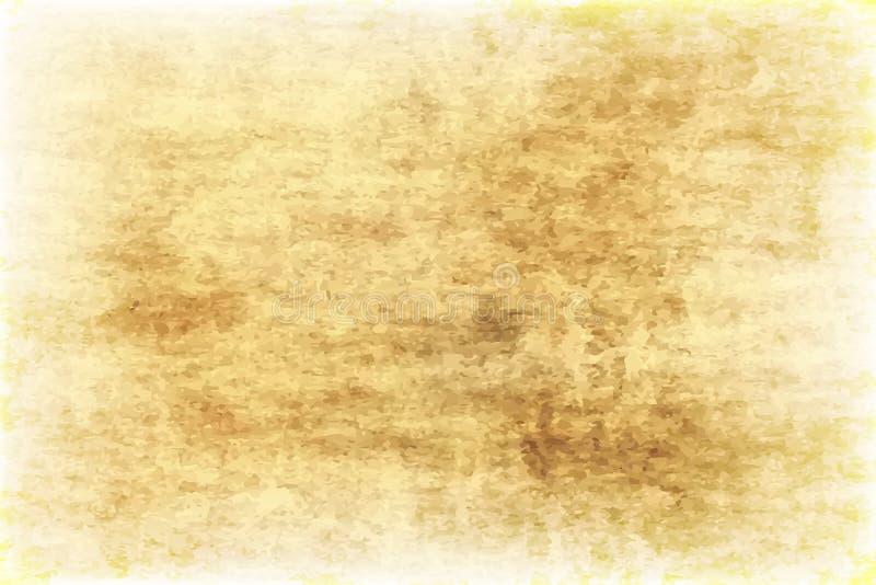 Textura de Art Old Paper Scrapbook Background libre illustration