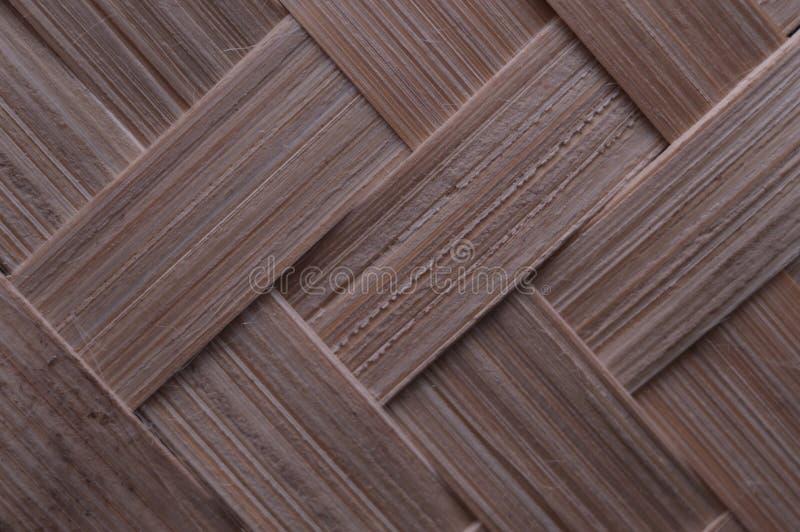 Textura de artes tejidos de bambú tradicionales de Indonesia fotografía de archivo