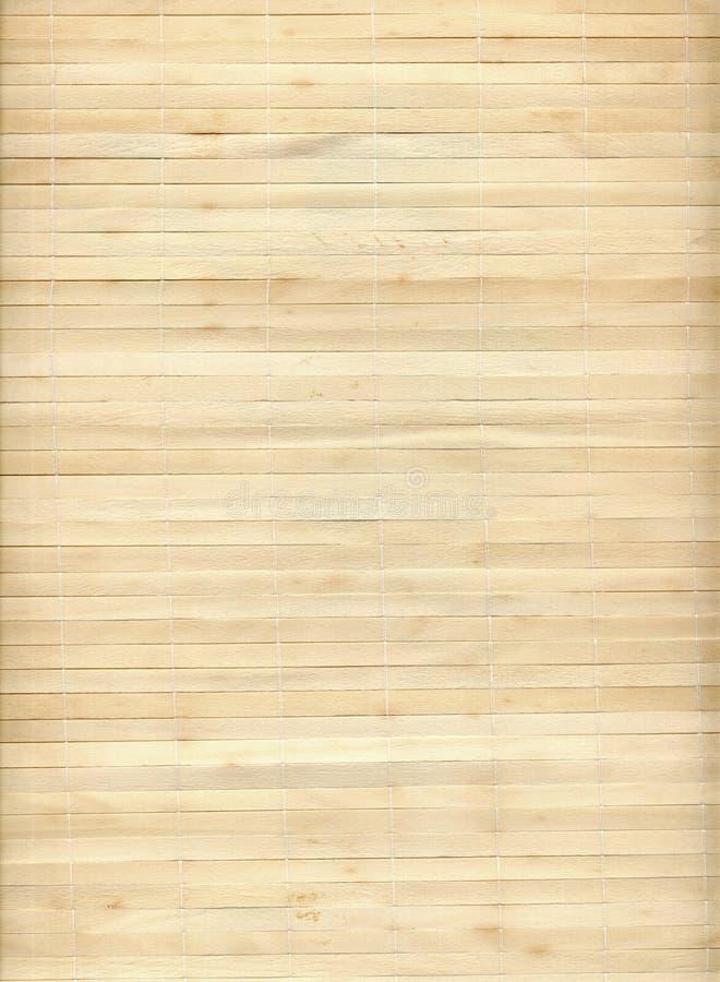 Textura de bambú de la estera