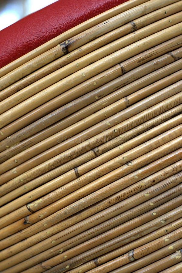Textura de bambú del bastón fotografía de archivo