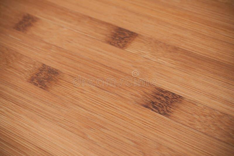 Textura de bambú de la tabla de cortar de madera fotografía de archivo libre de regalías