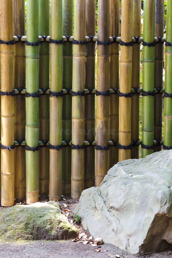 Textura de bambú natural imagenes de archivo