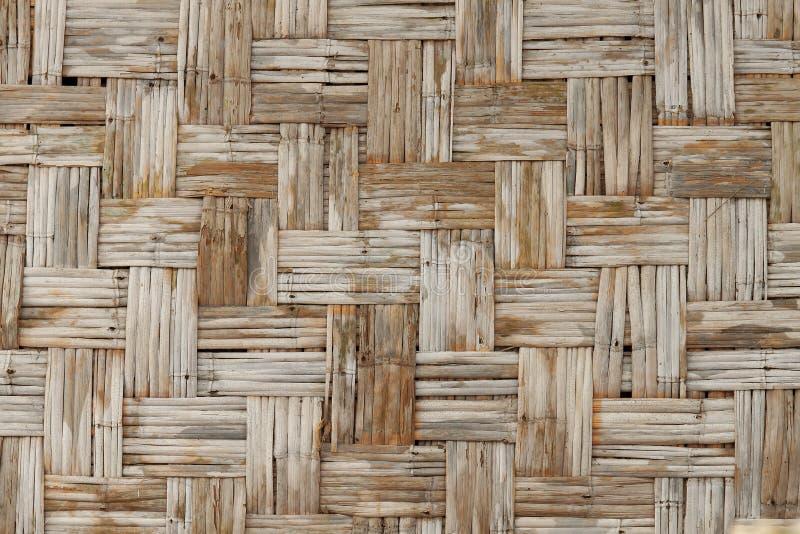 Textura de bambú tejida fotos de archivo libres de regalías