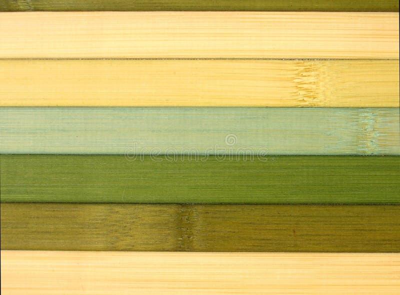 Textura de bambu da esteira imagem de stock