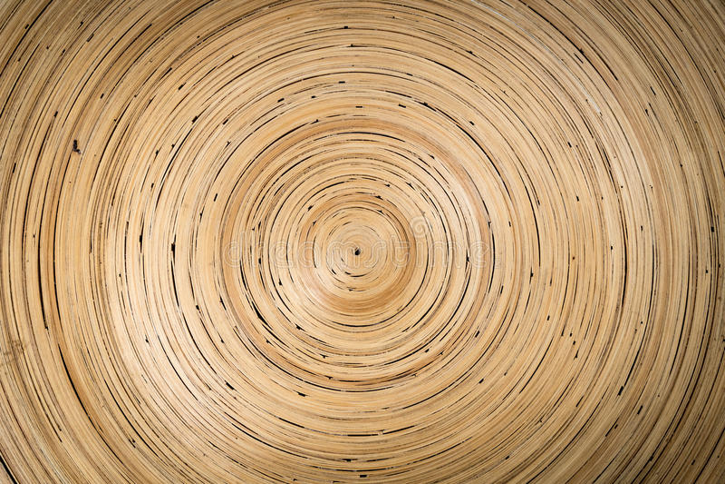 Textura de bambu do weave fotografia de stock