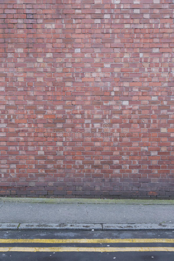 Textura de Brickwall com terra imagem de stock royalty free