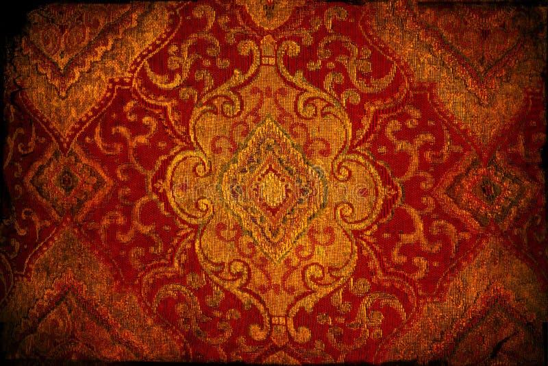 Textura de brocado foto de stock