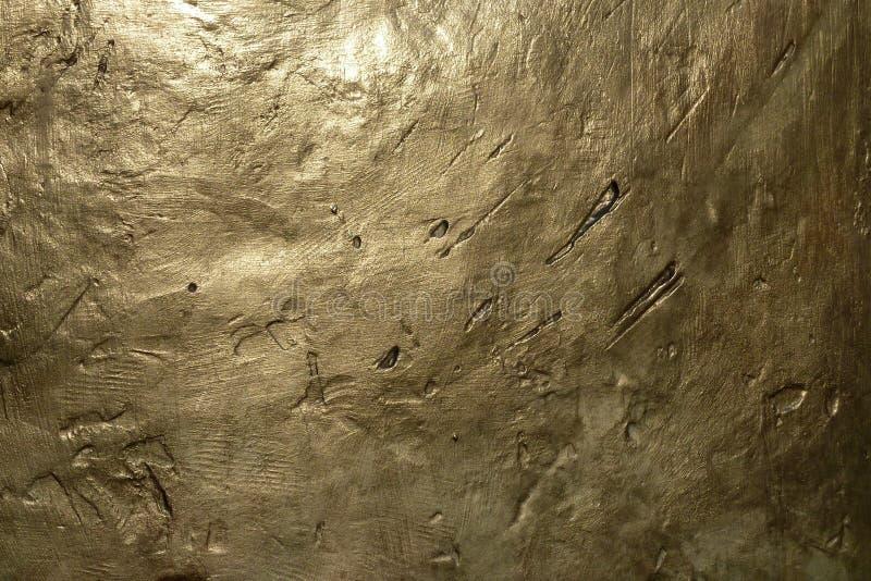 Textura de bronce del metal fotografía de archivo libre de regalías