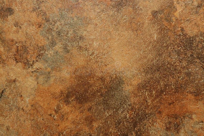 Textura de Brown e de oxidação foto de stock