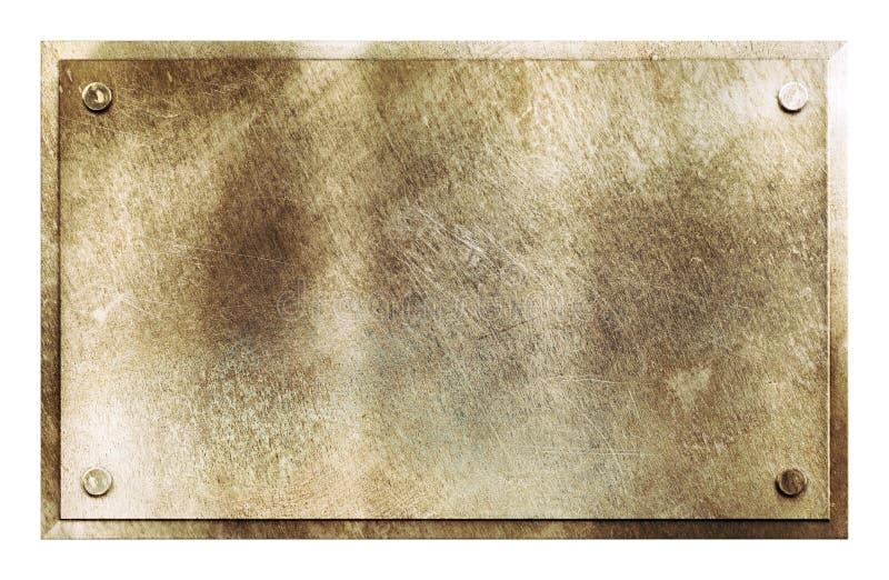 Textura de cobre amarillo rústica de la muestra del metal imagenes de archivo