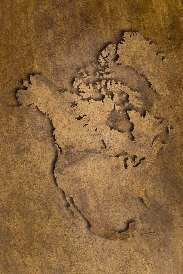 Textura de cobre de America do Norte fotografia de stock royalty free