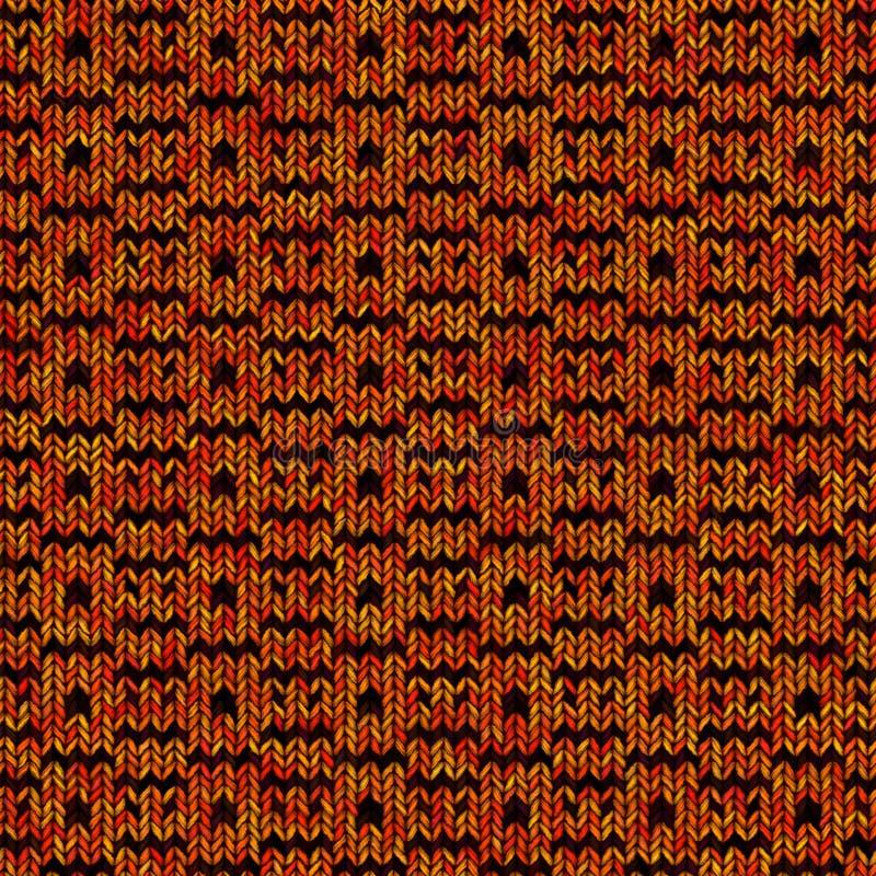 Textura de confecção de malhas colorida abstrata Fundo sem emenda para o projeto imagens de stock royalty free