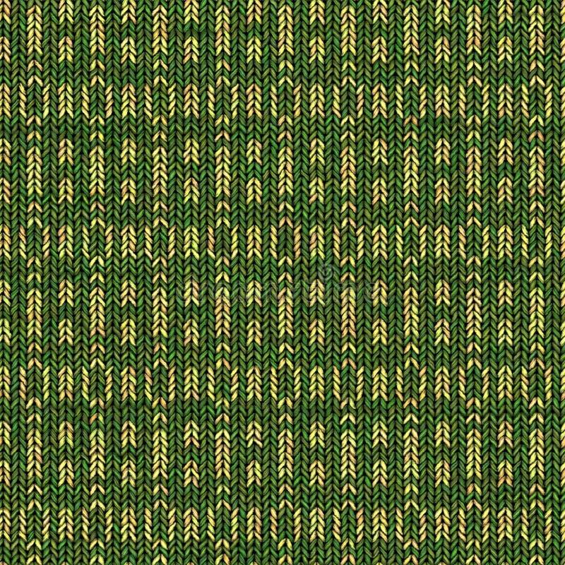 Textura de confecção de malhas colorida abstrata Fundo sem emenda para o projeto ilustração do vetor