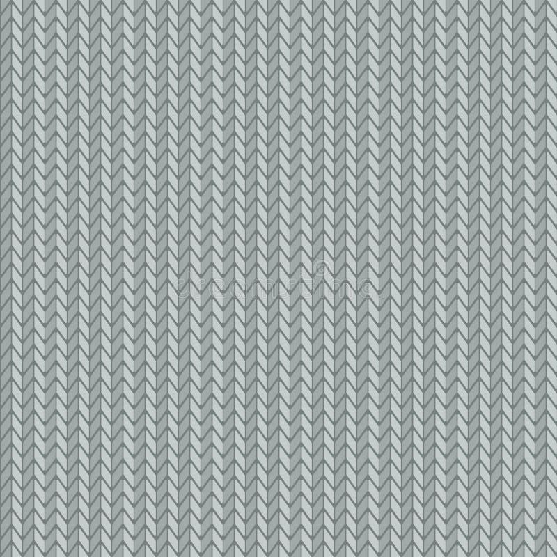 Textura de confecção de malhas, projeto sem emenda do teste padrão ilustração stock