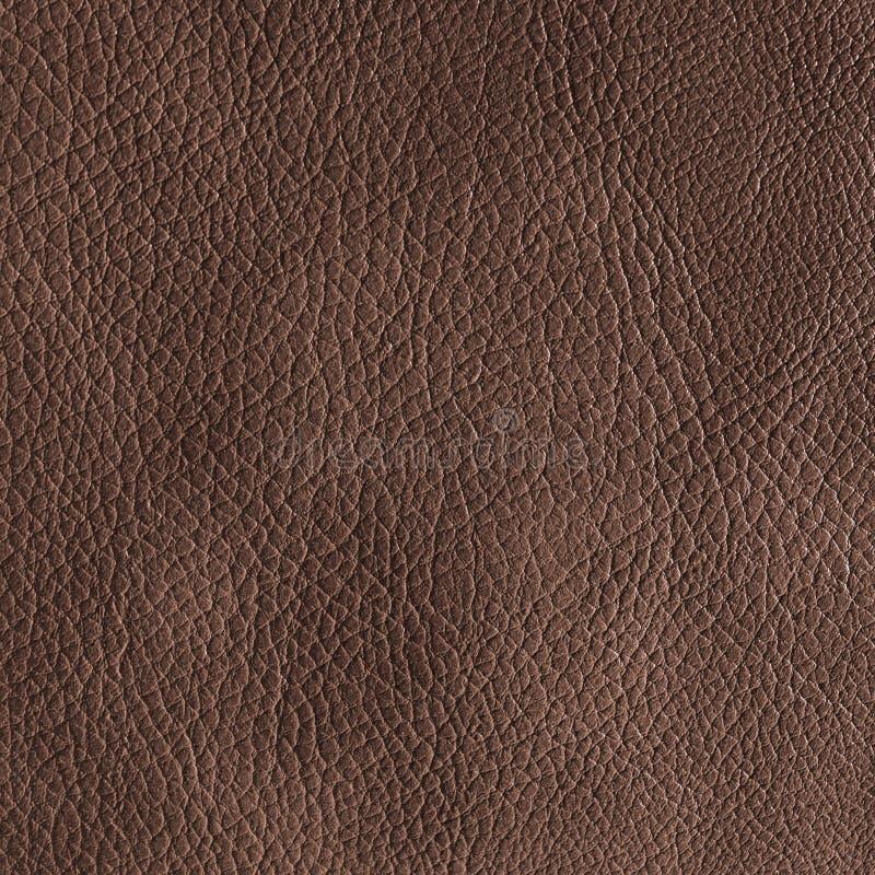 Textura de couro de Brown fotos de stock