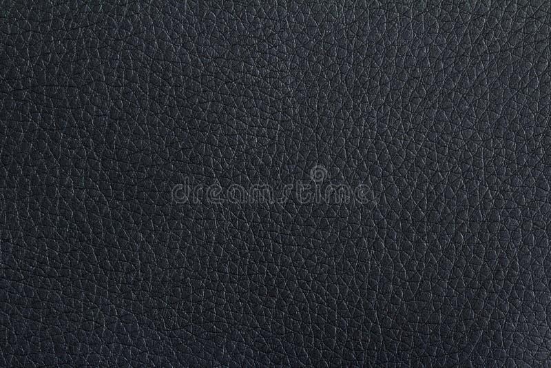 Textura de couro preta imagem de stock royalty free