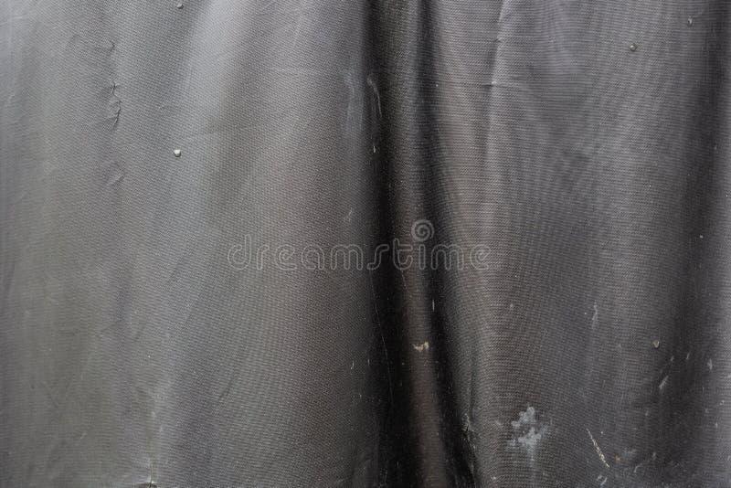 Textura de couro suja falsificada preta imagem de stock
