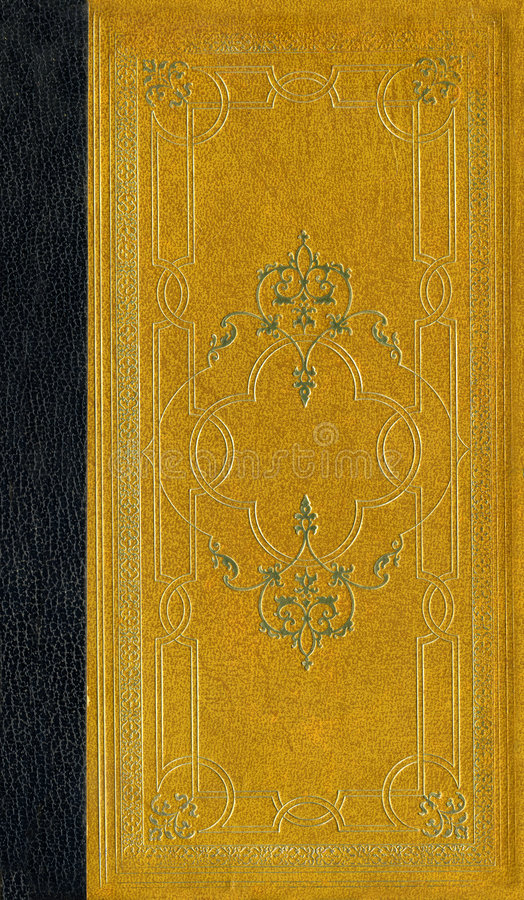 Textura de couro velha com frame decorativo imagens de stock
