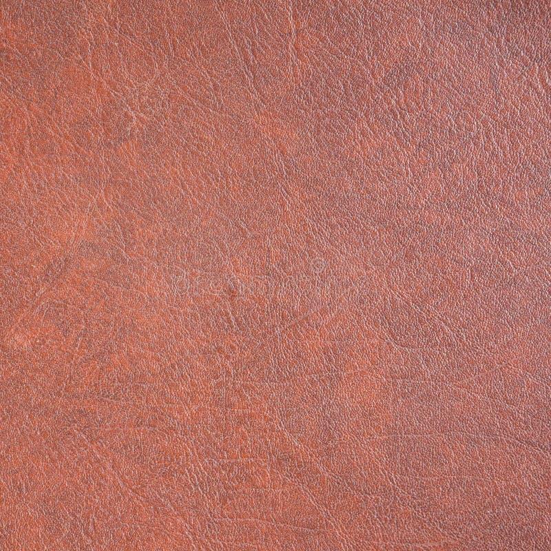 Textura de couro vermelha foto de stock