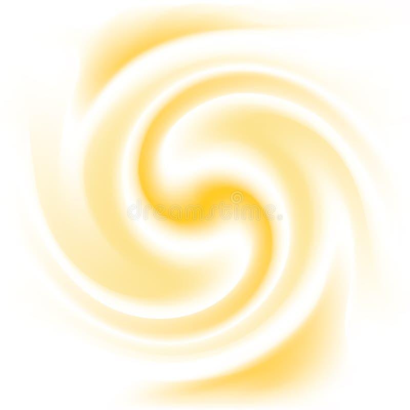 Textura de creme do pêssego e do leite ilustração stock